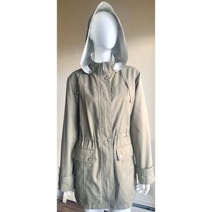 Liz Claiborne Detachable Hood Coat Large